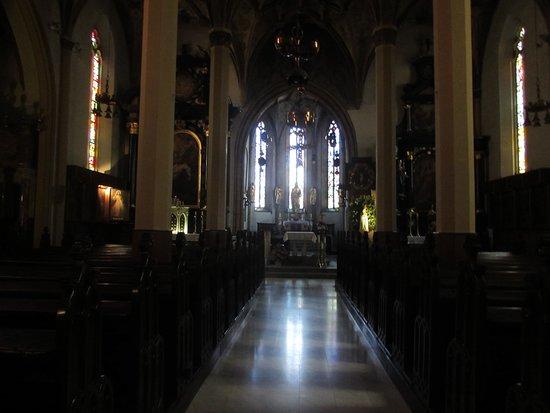 Župnijska cerkev Sv. Jakoba: interno chiesa