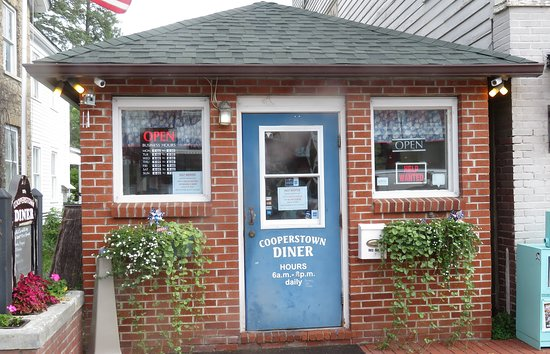 Cooperstown Diner: THREE Help Wanted Signs