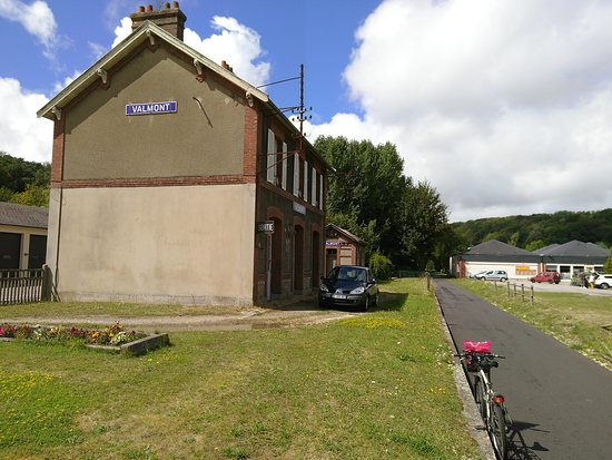 Fecamp, France : Ancienne gare de Valmont