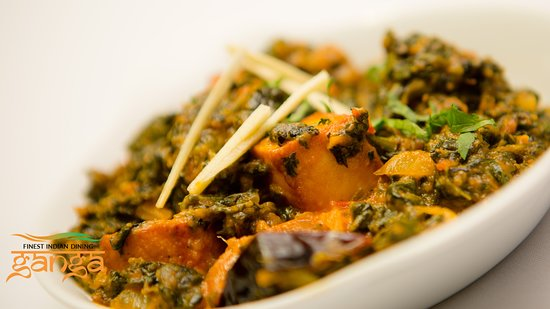 Seal, UK: Saag Poneer (Spinach with Cheese)
