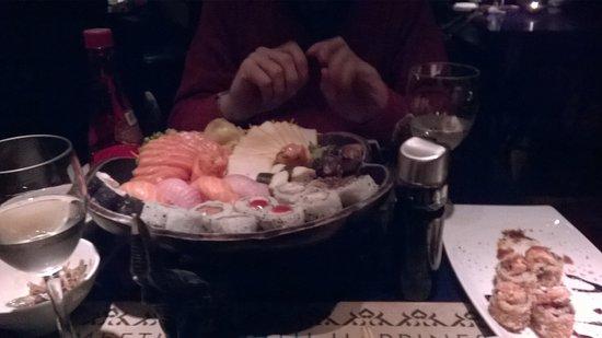 Sangsan Asian Lounge: Opção 1
