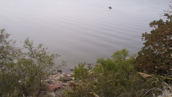 Lone Wolf, OK: View from one of the walking trails