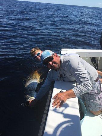 Boca Grande, FL: Tarpon Release with a smile.
