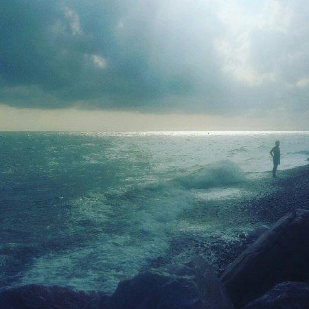 Spiaggia di Marina di San Vito (Molo Sud)