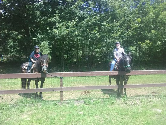 White Haven, PA: Trail ride