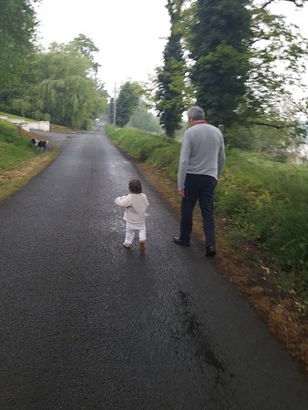 Butlersbridge, Irlandia: Walking with Grandad