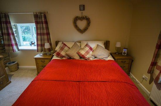 Odcombe, UK: Poppy Cottage bedroom