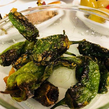 Perfektes Abendessen auf spanische Art