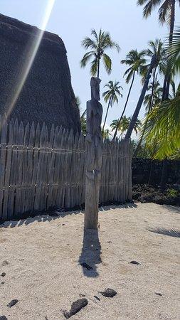 Pu'uhonua O Honaunau National Historical Park: Totem
