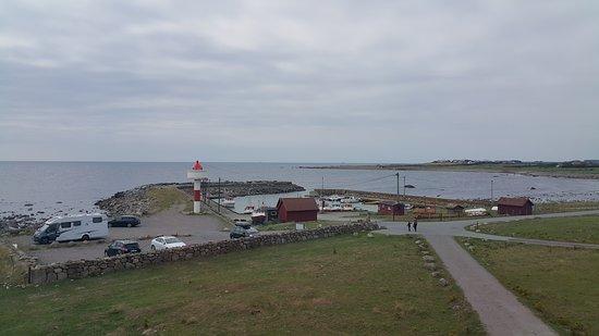 Brusand, النرويج: vuurtoren/museum/omgeving