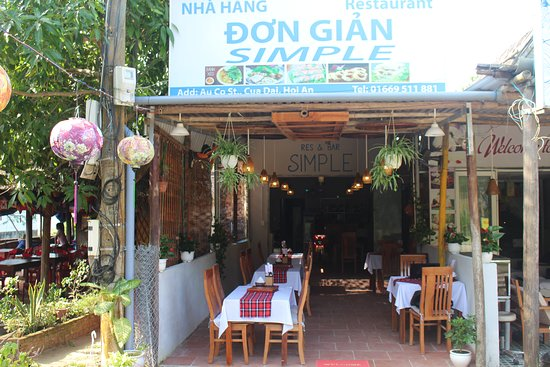 SIMPLE BAR AND RESTAURANT (ROSE'S KITCHEN), Hoi An ...