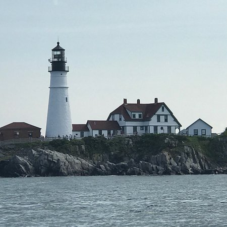 South Portland, ME: An afternoon of family-friendly fishing with Captain John Petrlik of Mary May Charters. Highligh