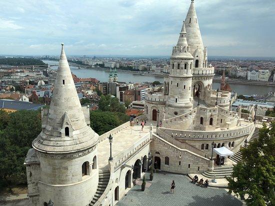Halászbástya: Fisherman's Bastion in Budapest. Fantastic place!