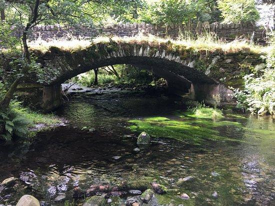 North Yorkshire, UK: Many old bridges were crossed