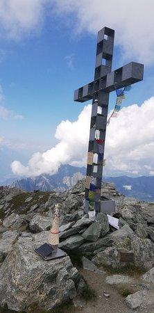 Brusson, Italië: Corno bussola 3026 metri