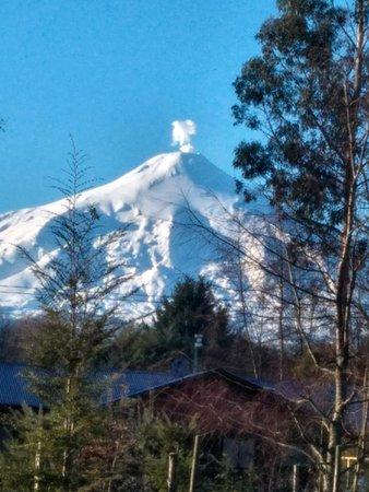 Los Rios Region, Chile: volcan villarrica en chile