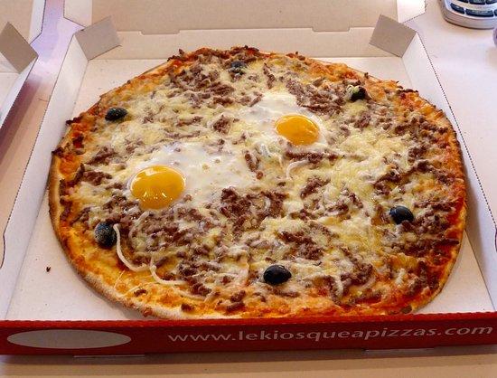 La Voulte-sur-Rhone, Frankreich: Pizza Bolognaise
