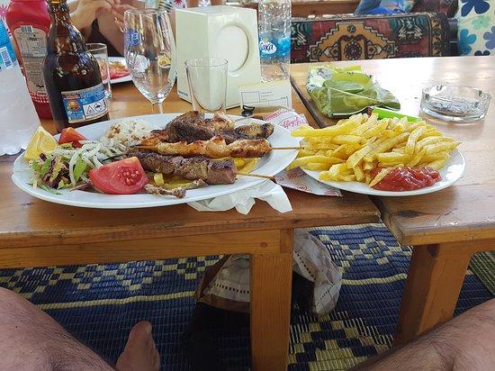 Saklikent, Turkiet: mix di carne alla griglia