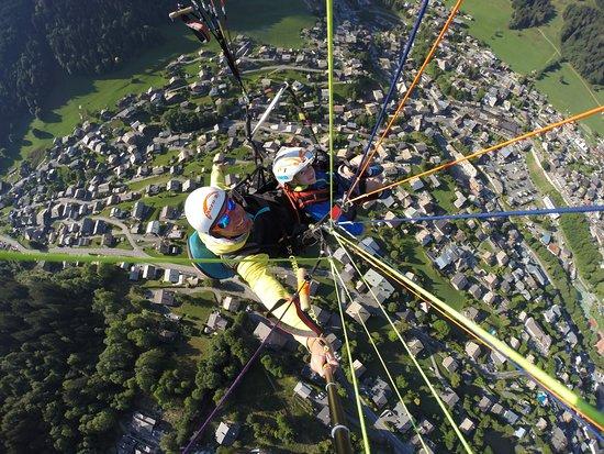 Aero-Bi: My 5 year old paragliding!