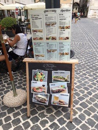 La Mangeria: Menù