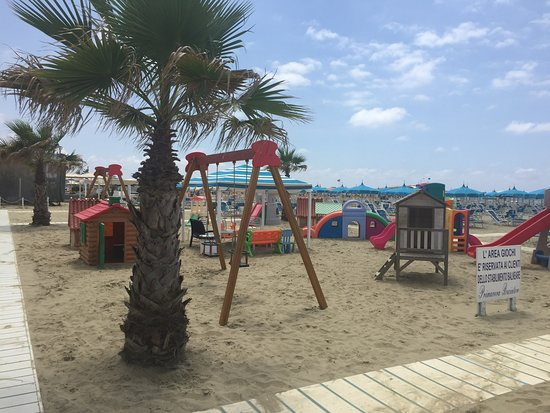 Lido Di Camaiore, Italie : Parco giochi