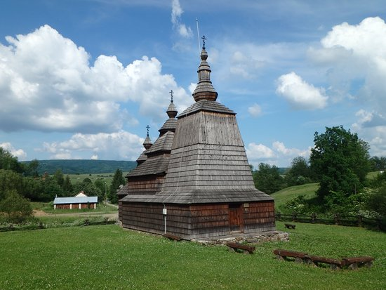 Wooden church Habura