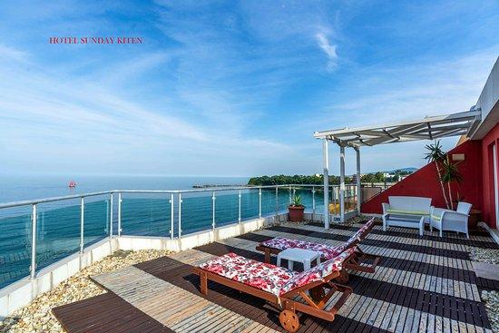 Kiten, Bulgaria: VIP apartment terrace