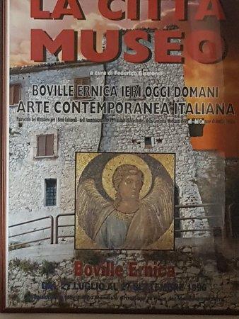 Boville Ernica, Italy: Mosaico di Giotto nella chiesa  di S.Pietro Ispanici.