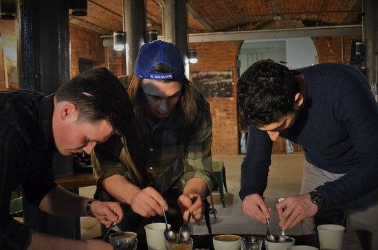 Ancoats Coffee Co: Cupping