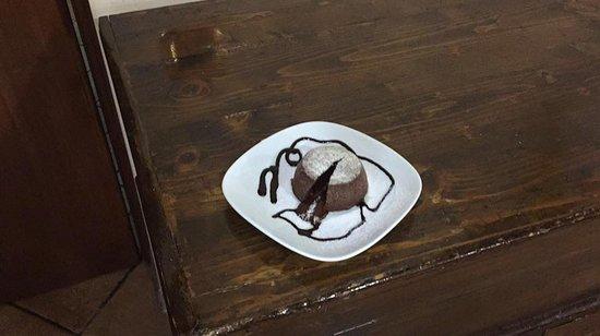 Agriturismo Il Vergaro : Tortino al cioccolato