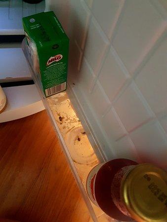 Low level of hygiene!