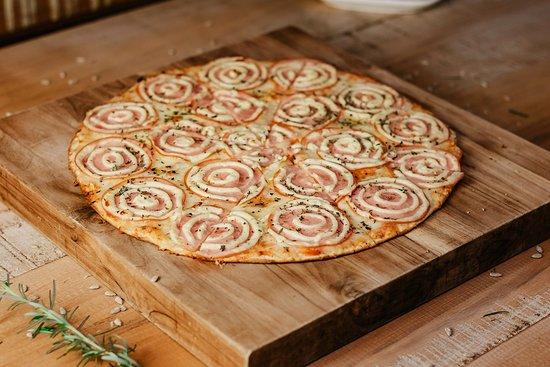 Pizza de Lombo ao Creme