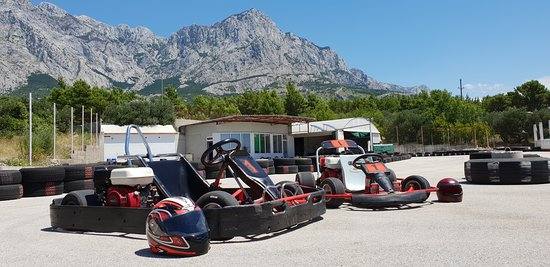 Baska Voda, Croatia: Go-kart for kids.