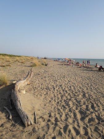 Principina a Mare, Italien: Inizio spiaggia delle capanne