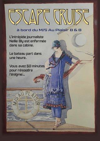 Hastière-Par-Delà, Belgia: Miss Nellie Bly a besoin de vous