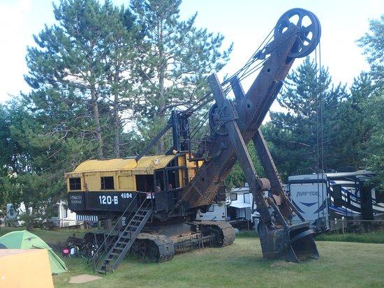 Chisholm, MN: giant steam shovel