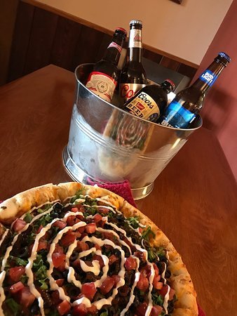 A Happy Hour Special - Taco Pizza