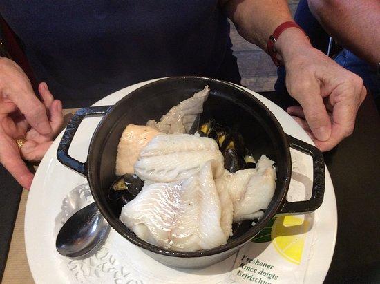 Le Boujaron Restaurant Rotisserie BAr: Retour de pêche