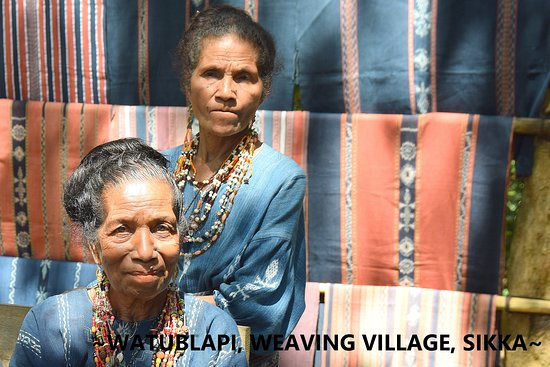 Watublapi, a professional weaving village in Sikka, Flores