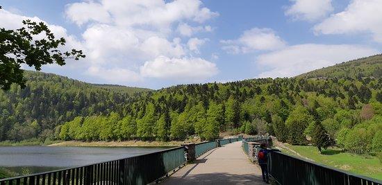 Guebwiller, فرنسا: Lac de la Lauch