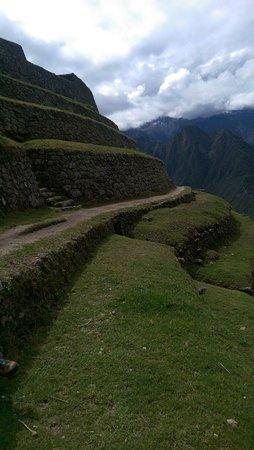 Inca Trail: terraces