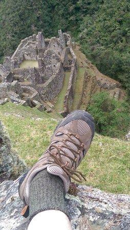Inca Trail: ruins
