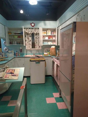 Pink Retro Kitchen Picture Of Michigan History Center