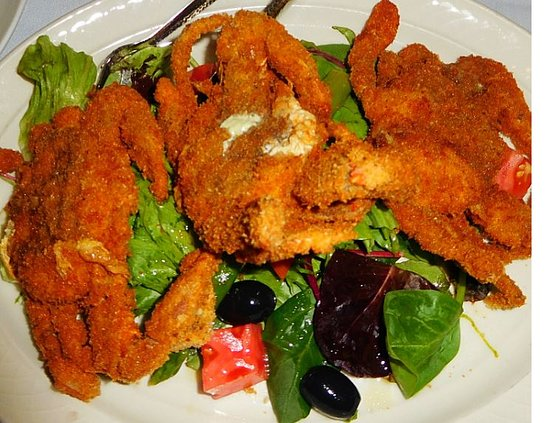 Don Pepe II: soft shell crabs