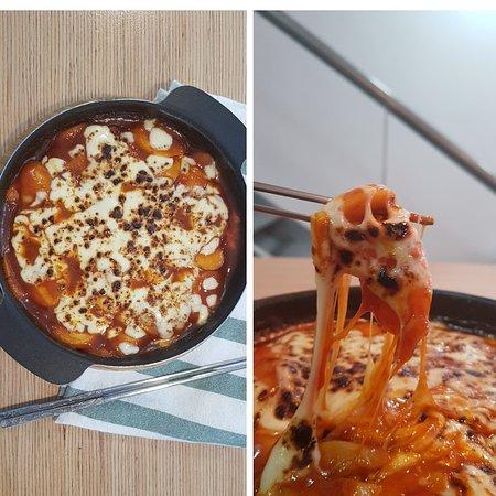 Gangnam Food Station: Tteokkbokki con mozzarella