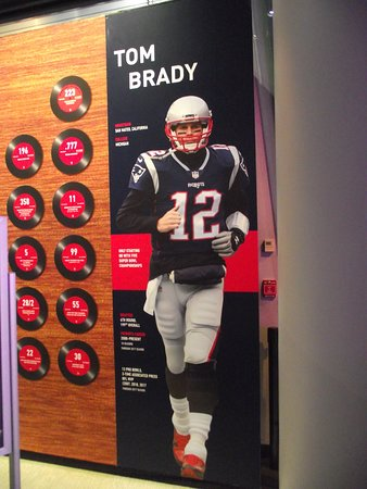 e23a6d12338 MA - FOXBORO - THE HALL AT PATRIOT PLACE - PHOTO OF TOM BRADY - The ...