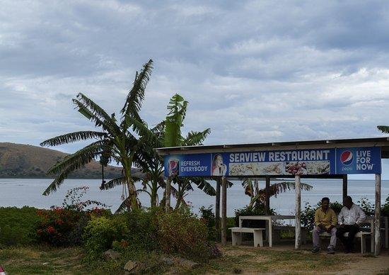 Ba, Fiji: Seaview Restaurant very good food in plain and simple surroundings