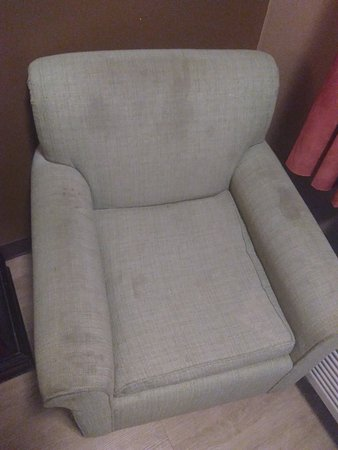 Richburg, SC: Stained armchair in room