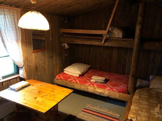Tankavaara, Finnland: Kullankaivajan mökki