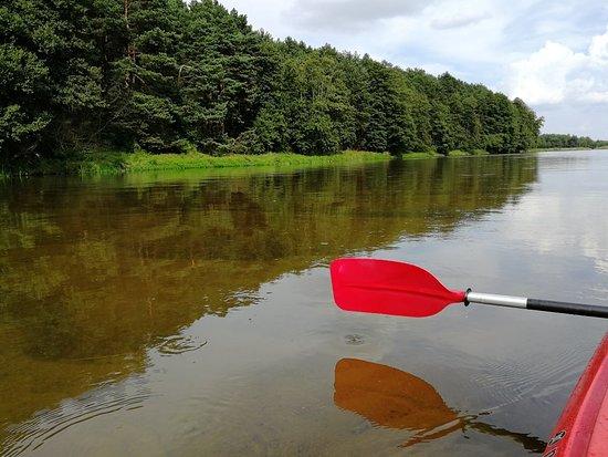 Nowe Miasto nad Pilica, Polen: Kayak fun